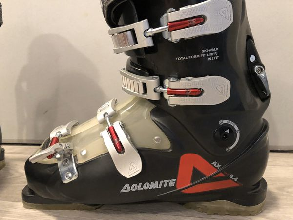 DOLOMITE USA Size 11 - ITALIAN SKI RACING SNOWBOARD BOOTS SHOES Made In Italy Model no. AX 9.4 / SIZE 28 29 28.5