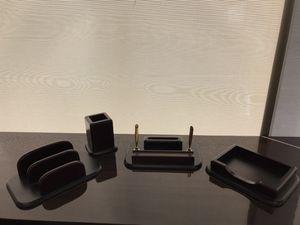 Wood 4 piece desk set for Sale in Corona, CA