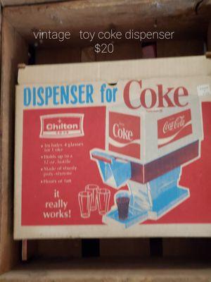 Toy coke dispenser for Sale in Hannibal, MO