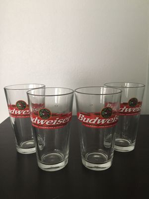 Budweiser Tumbler Glass Set for Sale in Buena Park, CA
