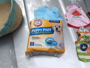 Puppy training pads for Sale in Columbia, SC