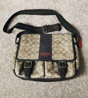 Coach messenger bag (large) for Sale in Port St. Lucie, FL