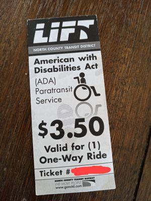 9 LIFT Tickets for Sale in Escondido, CA