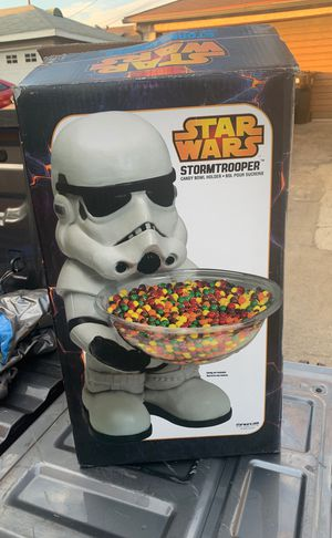 Stormtrooper candy bowl holder for Sale in Pico Rivera, CA
