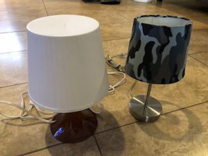 Desk / Bedside Lamp x 2 for Sale in El Monte, CA