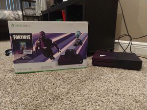 Xbox one s limited edition fortnite + account of fortnite, for more information look the description. for Sale in Fort Lauderdale, FL