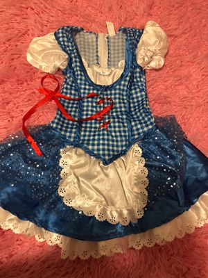 Dorothy costume 2t -3t for Sale in Anaheim, CA