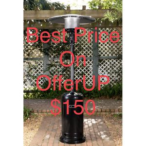 Fire Sense 46,000 BTU Black Sapphire Propane Patio Heater ***PRICE IS FIRM*** for Sale in Upland, CA