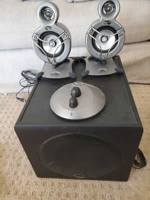 Klipsch Promedia Stereo Speakers and Sub for Sale in Fremont, CA