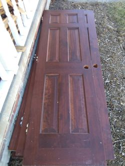 Prestained Pine Doors Used for Sale in Normal,  IL