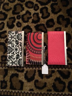 3 Fun Color Wallets for Sale in Columbus, OH