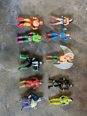 Marvel action figures from the 80's for Sale in Anaheim, CA