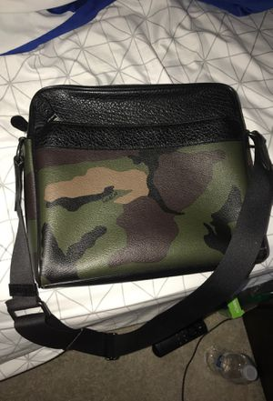 Camo Coach Messenger Bag for Sale in Severn, MD