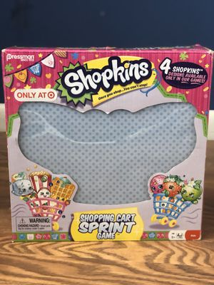 Shopkins Shopping Cart Sprint Game for Sale in Tampa, FL
