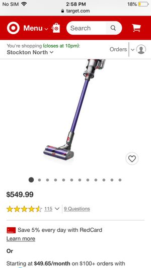 Dyson Cyclone V10 Animal for Sale in Stockton, CA