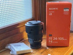 Sony 24-105 f4.0 G OSS FE Lens for Sale in Easton, MA