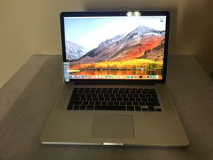 """MacBook Pro Retina, 15"""" Inch Mid 2015 for Sale in Charlotte, NC"""