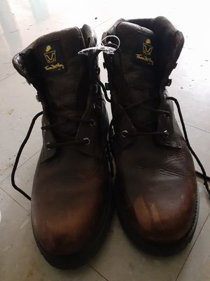 Size 12 steel toe work boots for Sale in Columbus, OH