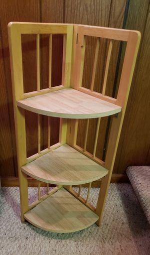 Foldable corner shelf for Sale in Garden City, MI