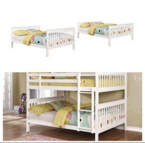 Full/Full Bunk Bed New In Box for Sale in Margate, FL