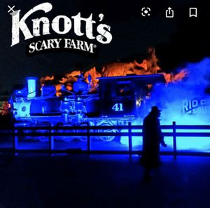 6 KNOTTS SCARY FARM TICKETS TONIGHT 10/19 for Sale in Los Angeles, CA