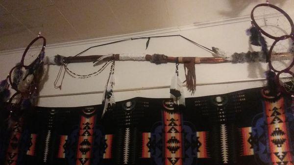 Native American Staff