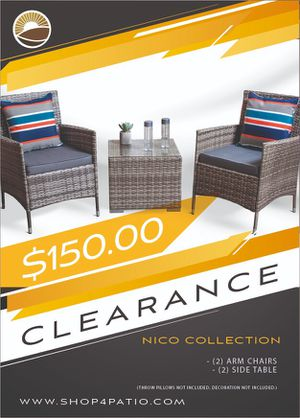 Beautiful outdoor furniture set for Sale in DeBary, FL