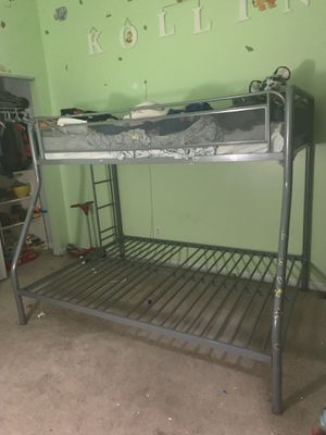 Bunk beds... bottom double bed and top is twin for Sale in East Greenville, PA