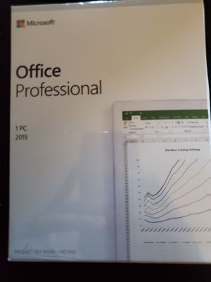 Microsoft office professional 1 use for Sale in Marion, OH