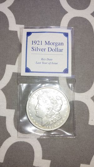1921 Morgan Silver Coin last year of Issue for Sale in Peoria, AZ