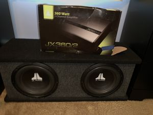 BRAND NEW JL audio speakers and JL audio 360 watt amp never used brand new need gone today best offer by end of day gets it for Sale in East Providence, RI