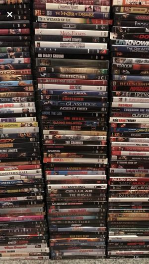 Enormous DVD Collection of 180-200 Mint for Sale in Pawtucket, RI