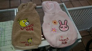 Plush doggie coats for Sale in Los Angeles, CA