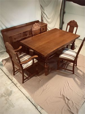 Dining Table with 6 chairs and Buffet for Sale in Livermore, CA