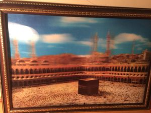 Framed 3D picture of Mecca. (Looks cooler in person) for Sale in St. Louis, MO