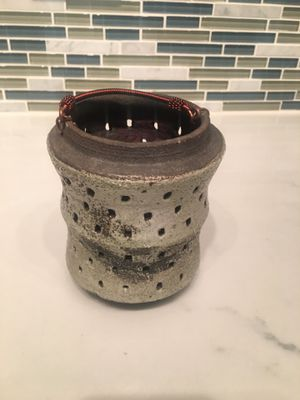handmade japanese clay (kiln-fired) lantern for Sale in Silver Spring, MD
