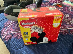 Size 1 huggies diapers for Sale in Chesapeake, VA