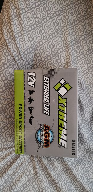 2 motorcycle batteries $90 for both... for Sale in Houston, TX