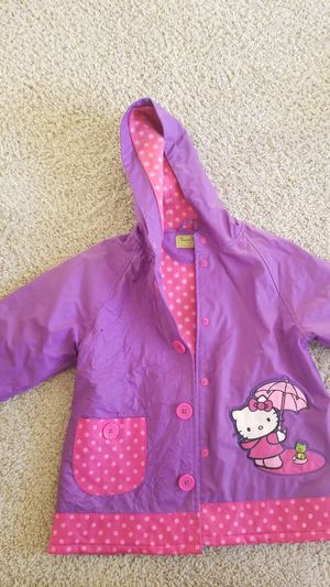 Free western chief hello kitty rain jacket for Sale in Portland, OR