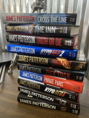 James Patterson Collection for Sale in San Antonio, TX