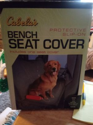 Selling a brand new bench dog seat cover for Sale in Wichita, KS