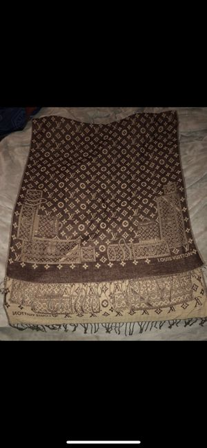 Authentic Louis Vuitton scarf or shawl retail $600 for Sale in Albany, CA