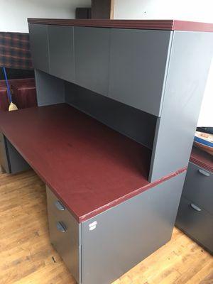 Desk & Hutch for Sale in Salt Lake City, UT