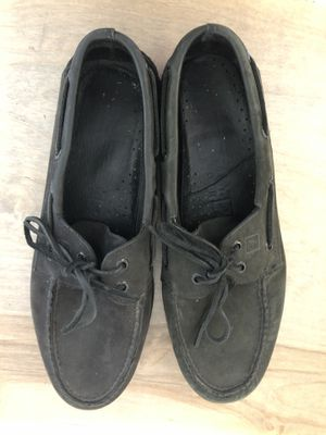 Genuine Sperry's men's shoes color black size 10 for Sale in Costa Mesa, CA