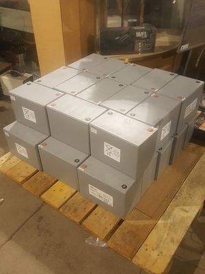 90 AMP hour AGM car audio batteries $100 a piece for Sale in Columbus, OH