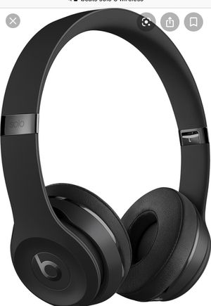 Beats solo 3 Bluetooth for Sale in Ogden, PA