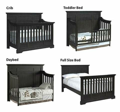 Avalon Oxford Convertible Crib Slate New For Sale In