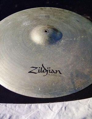 """Zildjian platinum 24"""" Ping Ride cymbal for Sale in Long Beach, CA"""