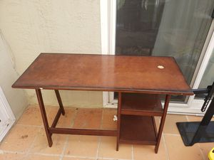 Free Desk and Entertainment Center for Sale in Livermore, CA
