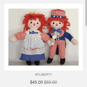 Raggedy Ann & Andy for Sale in Phoenix, AZ